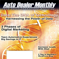 Auto Dealer Monthly June